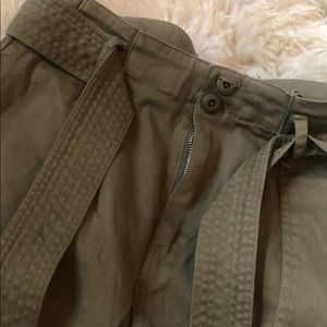 Black Orchid Pants - Olive green barely worn pants!